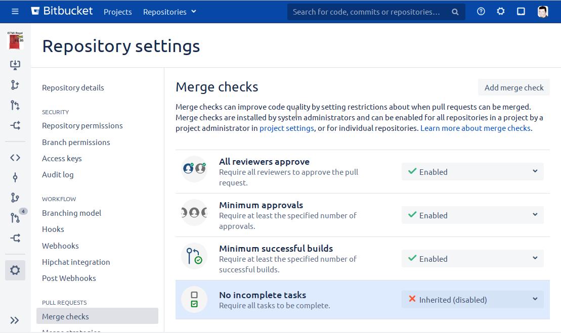 Establishing a semi-automated gitflow/versioning-process